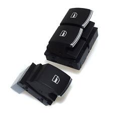 2x Fensterheberschalter Schalter für VW Golf Jetta Tiguan Caddy EOS Seat Altea