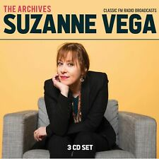 SUZANNE VEGA New Sealed 2020 LIVE 1980s, 90s & 2000s CONCERTS 3 CD BOXSET