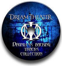 DREAM THEATER STYLE ROCK METAL DRUMLESS MP3 BACKING TRACKS REHEARSAL DRUMS