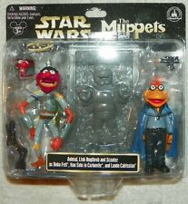 NEW Star Wars/Muppets Animal, Link, Scooter as Boba Fett, Han ~ Carbonite, Lando
