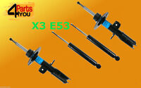 4x Front Rear Shock Absorbers DAMPERS BMW E53 X5 4.4 3.0D 2000-2006 hight qualit