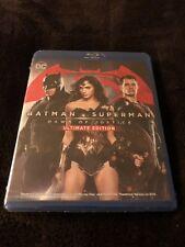 Batman v Superman Dawn of Justice Ultimate 2016 NEW Digital HD + DVD + Blu Ray