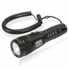 New listing SEAC R3 LED Portable Ultra Bright Scuba Diving Light, 400 Lumens, Black