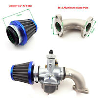 26mm Carburetor 38mm Air Filter Cleaner kit110 125cc 140cc Engine Pit Dirt Motor