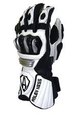 Arlen Ness Slayer Race Road Bike Leather Glove White / Black X-Large RRP $199.95