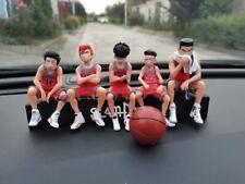 5PCS Set SLAM DUNK SHOHOKU Basketball Team Figure US Seller