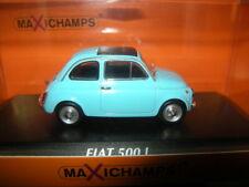 1:43 Maxichamps Fiat 500 L 1965 blau/blue Nr. 940121601 in OVP