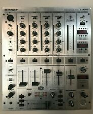 BEHRINGER DJX700 4 CHANNEL DJ MIXER DIGITAL FX / BPM COUNTER