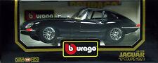 10 BURAGO JAGUAR E COUPE 1961 NOIRE N°3018 1 18