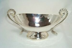 Sauce Boat, Nostalgia Sauces Bowl IN Empire Style Silver Plated