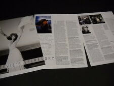 STEVIE NICKS original 2014 BB magazine 3-pages promo article - text and images