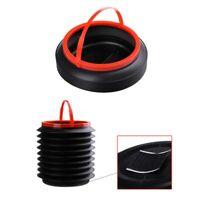 4L Portable Folding Bin Collapsible Bucket Outdoor Barrel Fishing Camping
