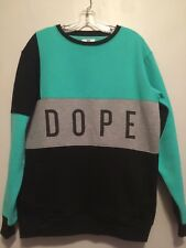 DOPE LARGE MINT SWEATER