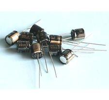Black Gate Capacitor BG-PK 10V 100uF 10pcs / #0960482