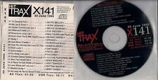 HIT TRAX X141 1995 - CD PROMO 18 Tracks Pearl Jam Neil Young B.Hornsby