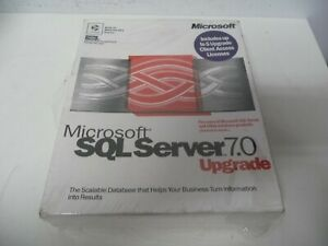 Microsoft SQL Server 7.0 Promotional Sample Supports 5 Clients Factory Sealed