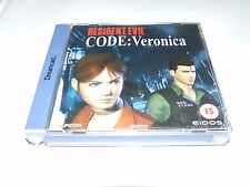Código Verónica para SEGA DREAMCAST COMPLETO BUEN ESTADO bonito Coleccionable!