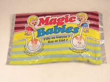 Ancien jouet Magic babies fille ou garçon neuf sous blister jamais ouvert 1991