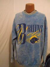 Mens Rare XL USA Nutmeg UCLA Bruins Powder Blue COLLEGE sweater crewneck
