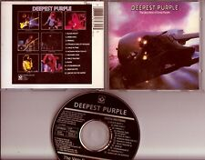 DEEP PURPLE Deepest Purple  CD EMI HARVEST HOLLAND Black Disc Blue Tray