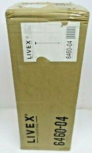 Livex Lighting 6460-04 Ridgedale 1 Light Mini Pendant Light, Black