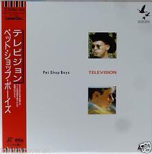 PET SHOP BOYS Laserdisc Television JAPAN LD OBI