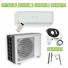 BONTTO K9 split unit airco 9000BTU 2,6kW inverter airconditioner 32m² WiFi A++