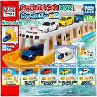 TTA Tomica DX12 NEW car ferry edition Gashapon 5 set mini figure capsule toys