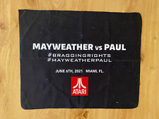 Floyd Mayweather Jr Logan Paul Bragging Rights Rally Towel 6/6/21 Miami