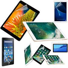 100 Pack Screen Protector For Huawei Amazon Apple iPad Galaxy Tab Ultra Clear