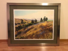 Marcia Burtt Autumn at Bull Canyon, Giclee on Somerset Velvet
