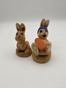 Vintage MoorCraft Design Rabbits Some Damage Scooter And Chooch