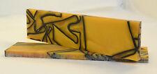 """Kirinite Liquid Gold 3/8x1.5x6"""" Scale per Coltello rendendo e lavorazione del legno"""