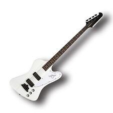 Epiphone Thunderbird Classic IV Bass Guitar Alpine White Gibson USA Pickups