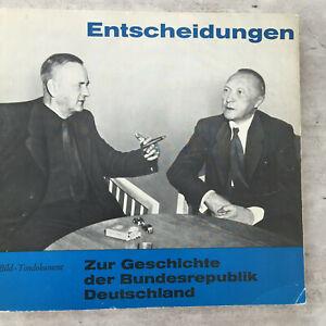 ENTSCHEIDUNGEN - Zur Geschichte der Bundesrepublik (Buch mit 20 cm-EP / NM)