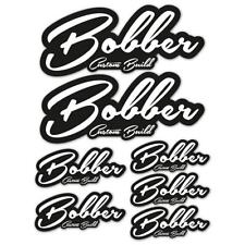 Bobber Custom Build Laminated Sticker Set motorbike motorcycle Biker
