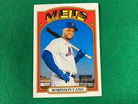 2021 Topps Heritage #426 Robinson Cano SP New York Mets