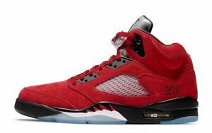 Nike Air Jordan 5 Retro SZ 11.5 Toro Bravo Varsity Red Black White DD0587-600