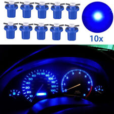 10x Car LED B8.5D T5 SMD Car Gauge Instrument Dashboard Cluster Light Bulb Blue