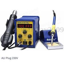 BAKU BK-878L2 700W 230V AU Plug 2in1 Rework Station Soldering Iron Hot Air Gun