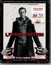 I FRANKENSTEIN  BOITIER METAL  BLU RAY 3D + + DVD  neuf  ref2103183