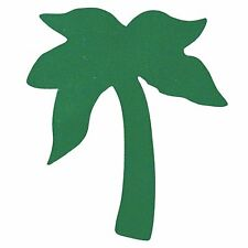 Lot of 50 Tanning Bed Body Stickers Green Palm Tree Tattoo