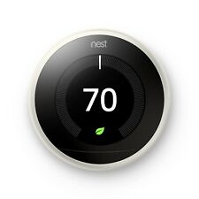 Nest Learning Thermostat temperature control (3rd Generation) -Silver never used