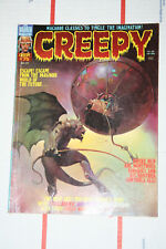 Vintage Creepy Magazine Issues #75! Ken Kelly Cover! Neal Adams! VG+
