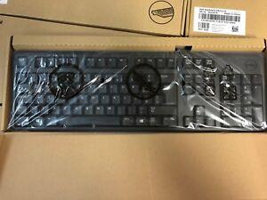 NEW Dell PC Desktop USB Black PORTUGUESE Portugal Keyboard D247N 0D247N KB212-B