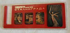 STALINGRAD VOLGOGRAD WW2 WWII SOVIET RUSSIAN USSR TABLE SET MEDAL BADGE ORDER