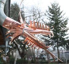 "Wasserspeier ""Kassandra"", Drachen, Drachenkopf, Dragon, Kupfer, 100mm"