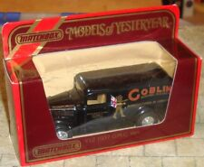 MATCHBOX-MODELS OF YESTERYEAR- 1937 G.M.C VAN - GOBLIN ELECTRIC CLEANERS - BOXED