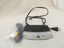 Used Philips S/N:0709 RF Modulator Video RCA Converter to Coaxial Antenna