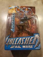 2004 Star Wars Unleashed Aayla Secura Figurine
